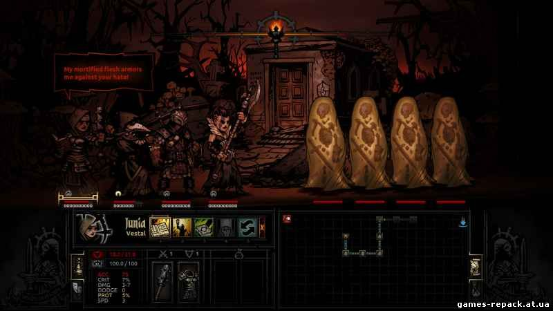 Darkest Dungeon [Build 15015] (2016) PC | Steam-Rip скачать